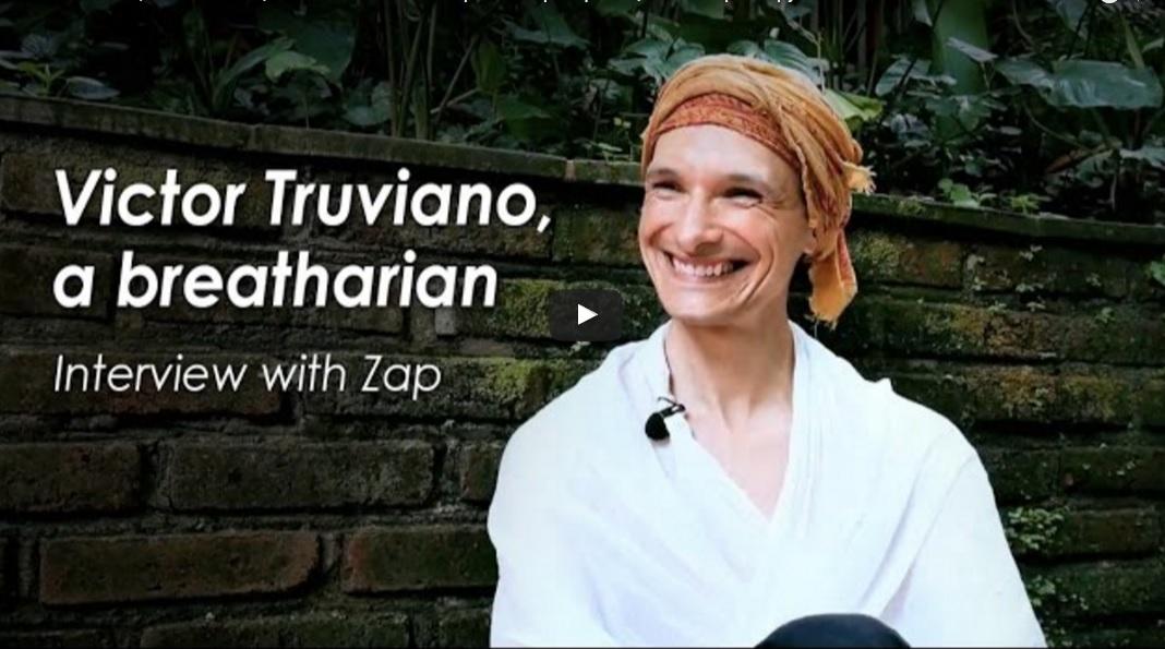 Příspěvek in Victor Truviano: Breatharián z Argentiny